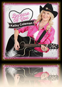 Kathy Coleman: Becuase of You CD Cover